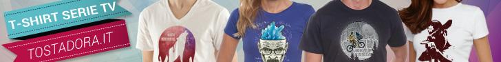 t- shirt e magliette serie TV